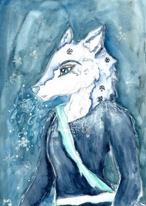 Anthro Challenge #161 Jack Frost by PlushieBeauty
