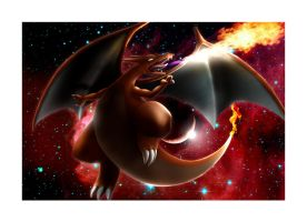 RED MOON CHARIZARD by neo-cscdgnpry