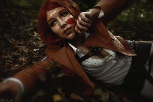 Attack on Titan - Petra Ral - Never give up... by MilliganVick