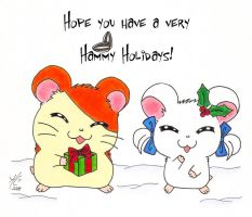 Have a very Hammy Christmas by IttyFox6