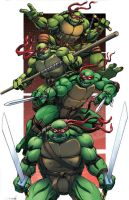TMNT Colors Comics by Dan-the-artguy