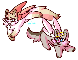 /Angels on flight/Commission by Winelys-11