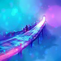 speed painting 03 - The bridge by ryky