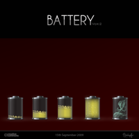 Battery Icon Version2 by Shadowfax2009