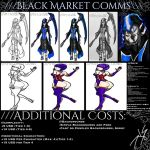 ///BLACK MARKET COMMISSIONS///[OPEN] by KnightSlayer115