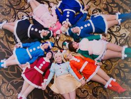Sailor Holiday Wreath by PinkJusticeCosplay