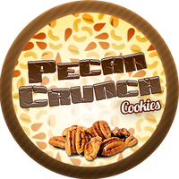 Pecan Crunch Cookies by Echilon