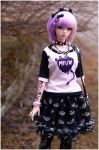Pastel goth outfit II by sherimi