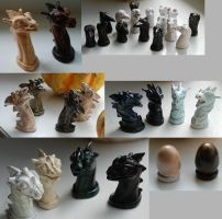 Pern Chess - Pieces by Malicious-Monkey