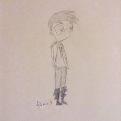 Me in Invader Zim by XweeProductions