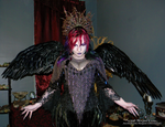 Queen of the Corvids Costume 15 by MorganCrone