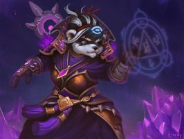 Panda Mage by lowly-owly