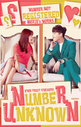 Unknown Number Wattpad Book Cover by AngelicaMoxie