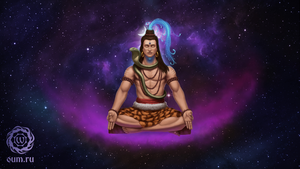 Shiva in meditation by SerSpiriT