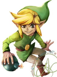 Legend of Zelda and/or Super Smash Bros: Toon Link by karniz