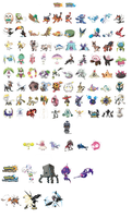 Generation VII Pokemon