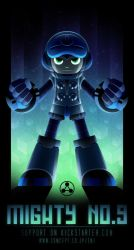 Mighty No. 9 Poster by mscorley