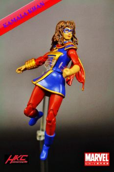 Custom Marvel Universe Kamala Khan (Ms. Marvel) by hunterknightcustoms