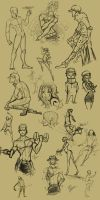 OP: sketches 01 by ChocOlive-Flamous