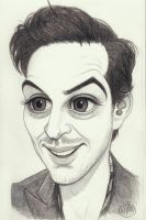 Caricature: Bambi Andy (sketch) by Elusive-Angel
