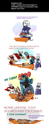 Undertale ask blog: caketastrophy by neonUFO