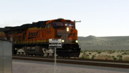 BNSF: Across The Mojave by Invader-Tak2015