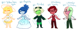 Name Your Price Gem Adopts (Closed) by Astrum-Adopts