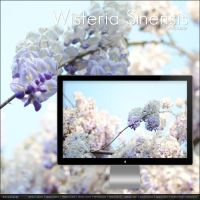 Wisteria Sinensis wallpaper by buzzstorm