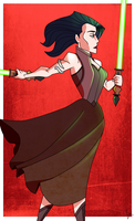 Jedi Knight Okara by VexyFate