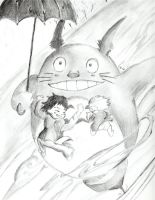 Where are you taking us Totoro by LamuneDX