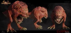 Warhammer: Squig Model Sheet by ShaunAbsher