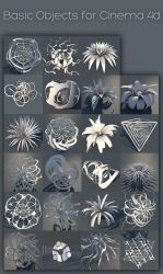 Basic Objects for c4d (r13) by xylomon