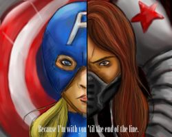 7 days of drawing challenge day 4 cap and bucky by G4B2TER