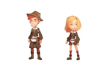 Clothes in My Time At Portia 2 by PatheaGames