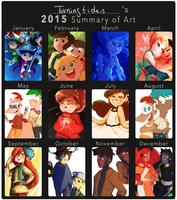 2015 Art Summary by TurningTides