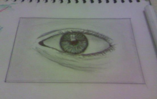 Eye (practice) 2 by robodroide