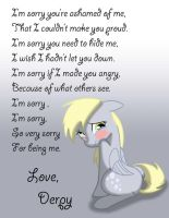 I'm Sorry for Being Me by Tprinces