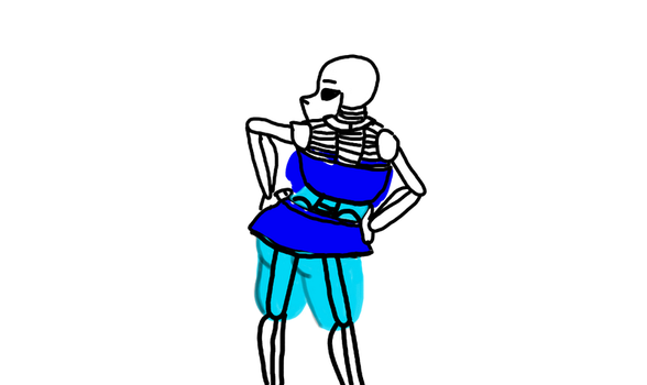 shitty sans made on Kleki by kyoyane