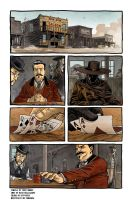 Western Page One by Hyptosis