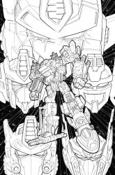 Reunification cover inks by REX-203