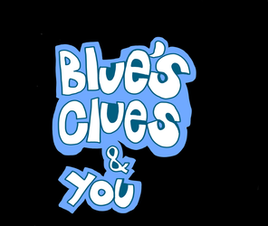 Blue's Clues and You logo (My version) by matiriani28