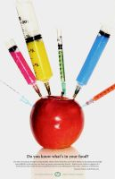 Eat Healthy Poster by MMousse