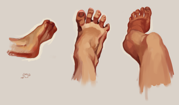 my paws studies from life by Aspidal