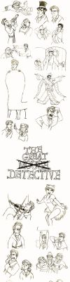 Great Mouse Detective sketches by Calerie