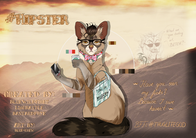 .:Ref:. #Hipster by Blue-Krew