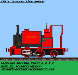 Skarloey The Narrow Gauge Engine by steamtheboxtank
