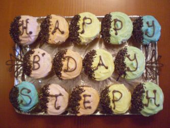 Cupcakes for Stephanie by Clarity1404