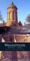 Wasserturm - Stock Pack by kuschelirmel-stock
