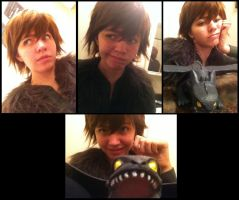 WIP Hiccup Cosplay by sjsaberfan