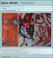 Graffiti Textures by pica-stock